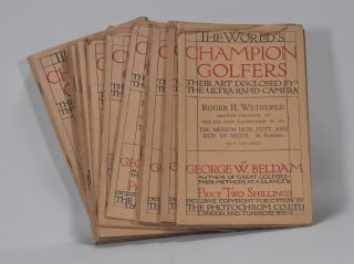 The World´s Champion Golfers: Their Art Disclosed By The Ultra-Rapid Camera. Complete set 11 volumes. George W. Beldam.