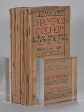The World´s Champion Golfers: Their Art Disclosed By The Ultra-Rapid Camera. Complete set 11 volumes.