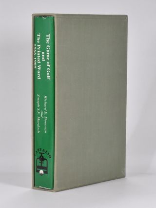 The Game of Golf and the Printed Word 1566-1985. Richard E. And Murdoch Donovan, Joseph S. F.