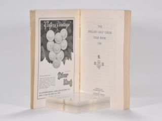 The English Golf Union Yearbook 1936