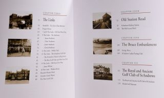 St. Andrews in the Footsteps of Old Tom Morris; 1821 edition. Limited to 1821 copies only.