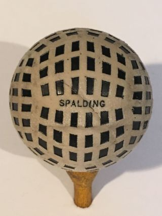 Spalding Berwick letter box pattern. Golf Ball
