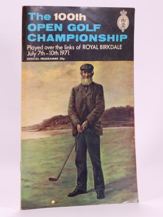 The Open Championship 1971. Official Programme. The Royal, Ancient Golf Club of St. Andrews