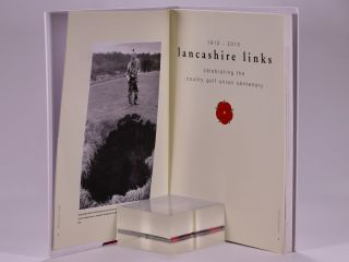 1910-2010 Lancashire Links celebrating the county golf Union Centenary