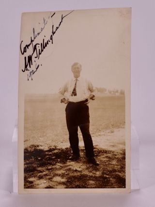 signed photograph 1926