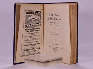 Golf Courses of the Empire 1931