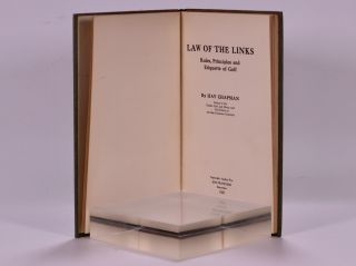 Law of the Links: rules, principles and etiquette of golf.