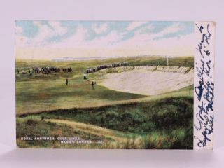 Royal Portrush Golf Club, Manns bunker. postcard