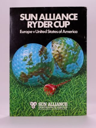 Ryder Cup 1981 Official Programme.