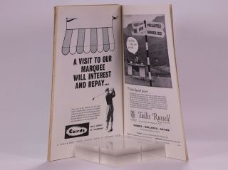 The Open Championship 1960. Official Programme.