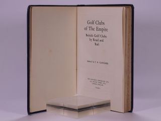 Golf Courses of the Empire 1928.