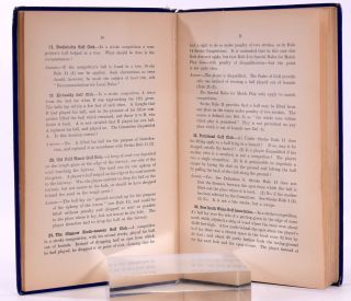 Decisions by the Rules Committee of the Royal and Ancient Golf Club 1909-1913