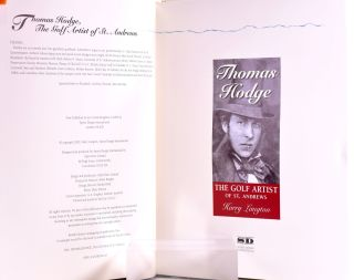 Thomas Hodge / The Golf Artist of St. Andrews