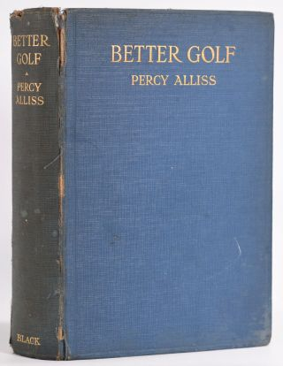 Better Golf. Percy Alliss