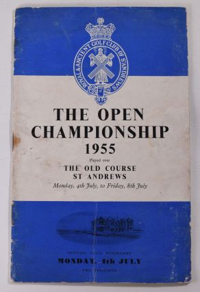 The Open Championship 1955. Official Programme. The Royal, Ancient Golf Club of St. Andrews