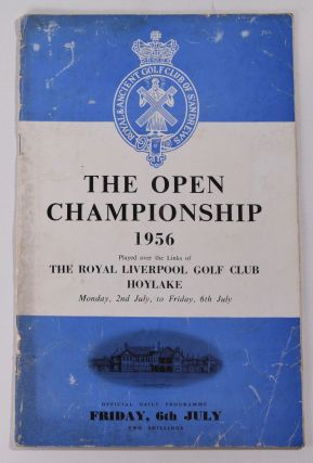 The Open Championship 1956 Official Programme. The Royal, Ancient Golf Club of St. Andrews