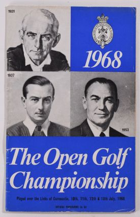 The Open Championship 1968. Official Programme. SIGNED! The Royal, Ancient Golf Club of St. Andrews