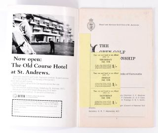 The Open Championship 1968. Official Programme.