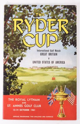 Ryder Cup 1961 Official Programme. P G. A