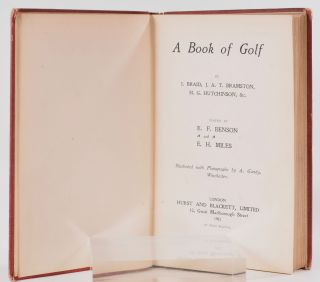A Book of Golf: Imperial Athletic Library