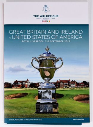 Walker Cup 2019 Official Golf Programme. R, A. / U. S. G. A