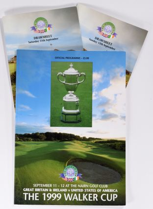 Walker Cup 1999 Official Golf Programme. R, A. / U. S. G. A