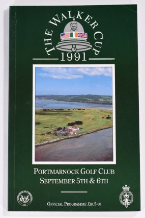 Walker Cup 1991 Official Golf Programme. R, A. / U. S. G. A