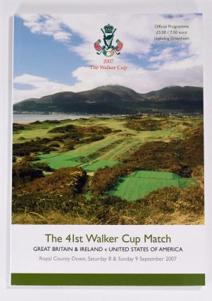 Walker Cup 2007 Official Golf Programme. R, A. / U. S. G. A