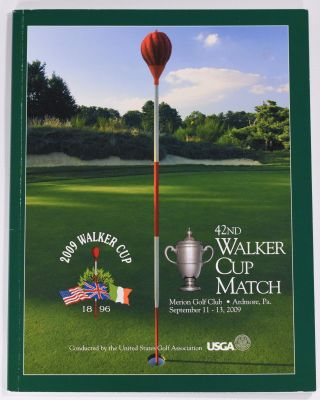 Walker Cup 2009 Official Golf Programme. R, A. / U. S. G. A