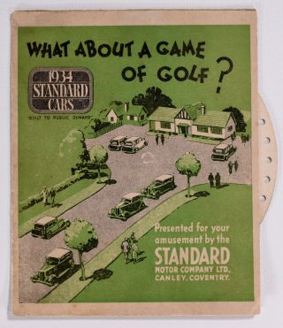 What about a Game of Golf? Standard Motor Company Ltd