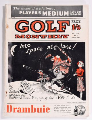 "Golf Monthly Volume 44 No. 1 January 1954. Golf Monthly ""Magazine"""