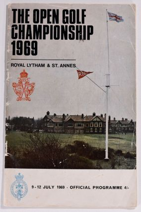 The Open Championship 1969. Official Programme signe by Bob Charles! The Royal, Ancient Golf Club...