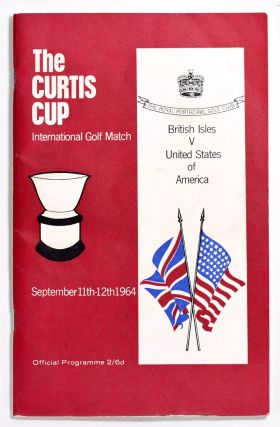 Curtis Cup Royal Porthcawl 1964. Ladies Golf Union