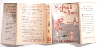 Mr Punch on the Links.