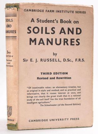 Soils and Manures. Sir E. J. D. Sc Russell, F. R. S