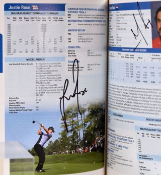 Official Guide 2009 multiple signatures!; 27 different Major winners!!