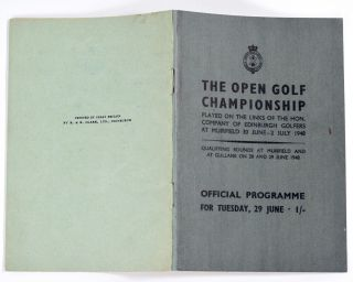 The Open Championship 1948. Official Programme.
