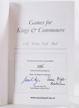 Games for Kings and Commener's