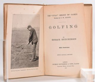 Golfing: The Oval Series of Games